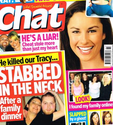 sell my story to Chat magazine