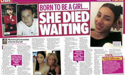 Born to be a girl... she died waiting Chat 12-03-2016