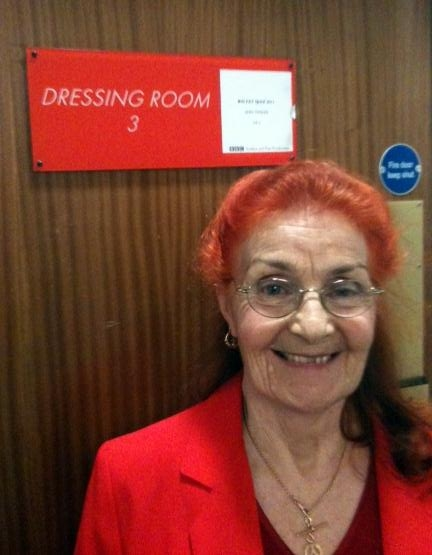 Supergran Ann Timson appears on Channel 4's Big Fat Quiz of