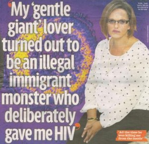HIV story Sunday Mirror