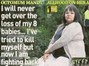 Mandy Allwood Octuplets sell story
