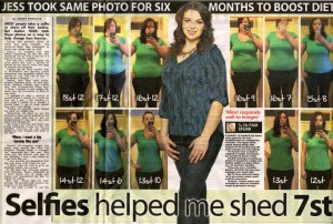 sell weight loss story