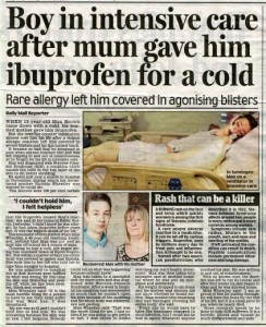 steven johnsons syndrome sell story