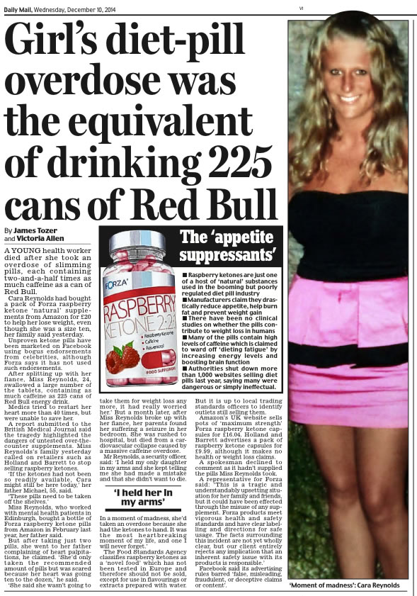 Michael Reynolds Daily Mail
