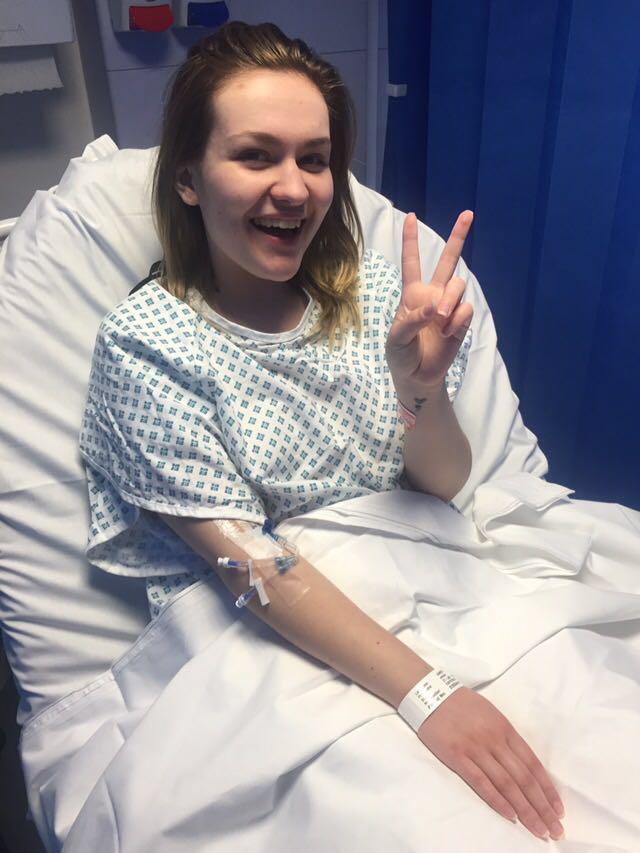 Emma in hospital 2