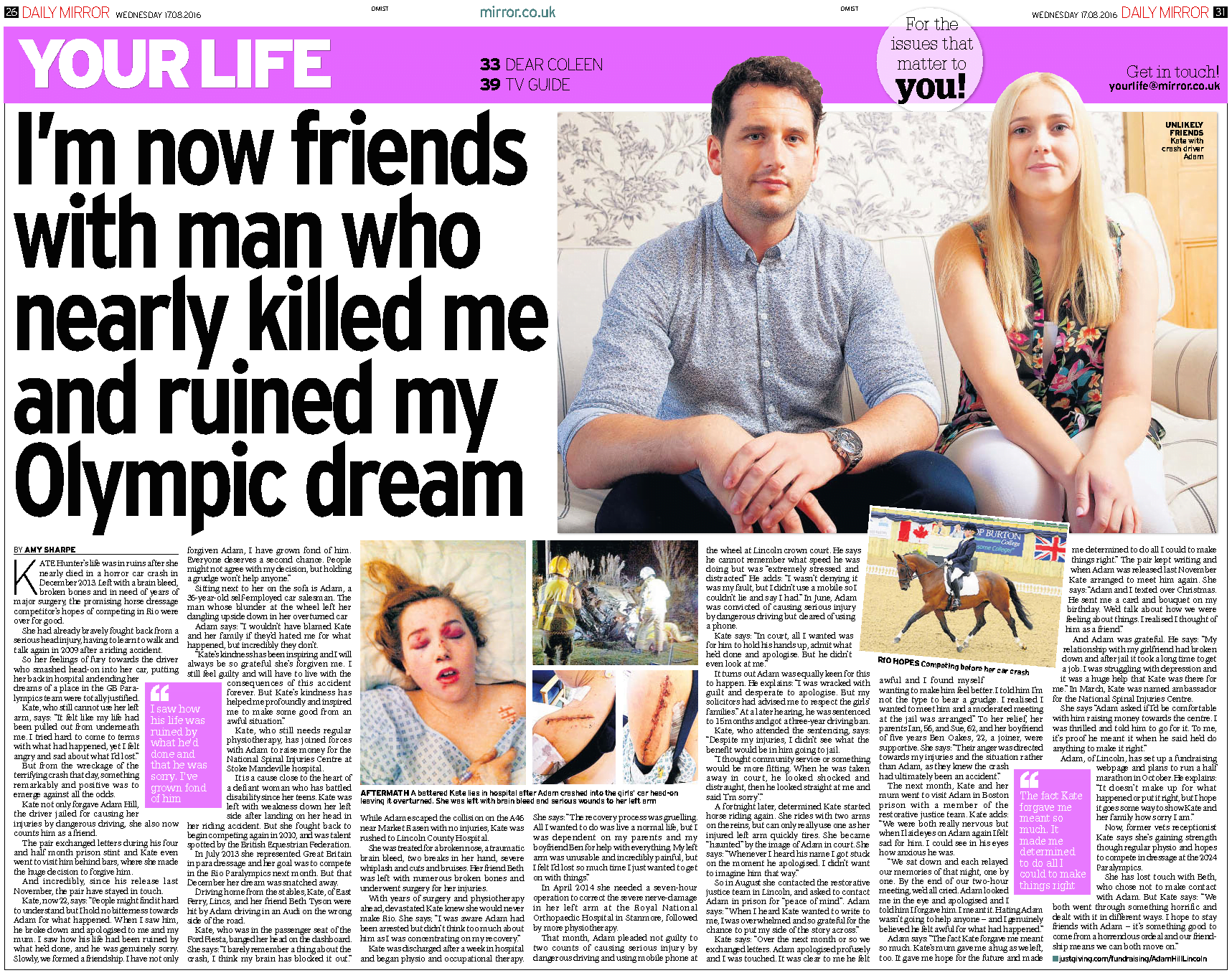 im-friends-with-man-who-nearly-killed-me-and-ruined-my-olympic-dream-daily-mirror-17-8-2016